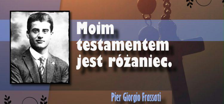 Nabożeństwa pierwszych  sobót miesiąca z Pier Giorgio Frassatim